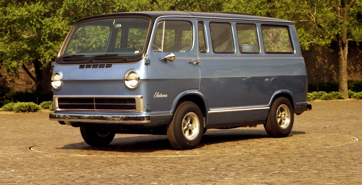 Gm Hydrogen Fuel Cell Vehicles 1966 Electrovan