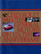 Chevrolet Salutes General Motors On Its 75th Anniversary
