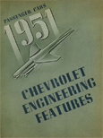 Chevrolet Passenger Car Engineering Features - 1951