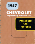 Chevrolet Passenger Car Engineering Features - 1957