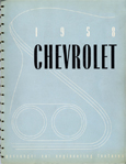 Chevrolet Passenger Car Engineering Features - 1958