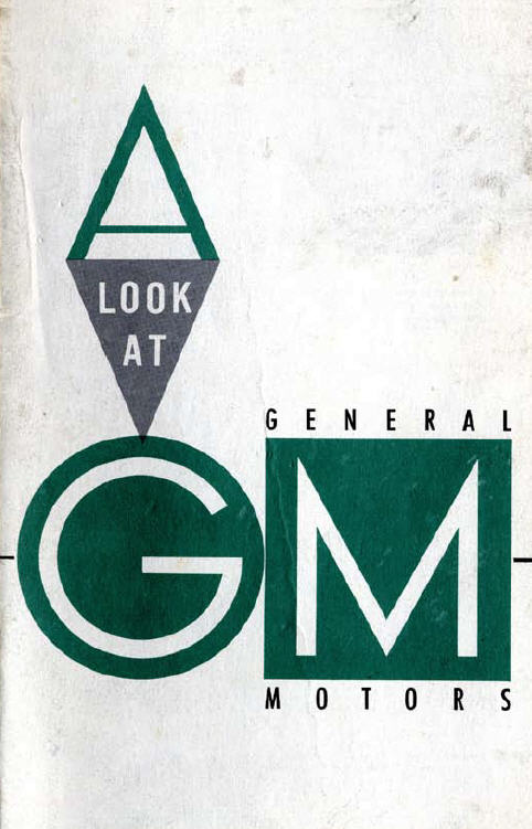 Gm Heritage Center Archive Corporate Gm History A Look At