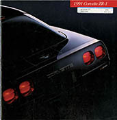 Corvette Historical Brochure