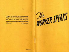 The Worker Speaks
