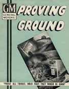 "GM Proving Ground: ""Prove All Things; Hold Fast That Which Is Good"""