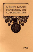 A Busy Man's Textbook on Automobiles