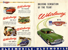 Driving Sensation of the Year! Whirlaway with Hydra-Matic Drive