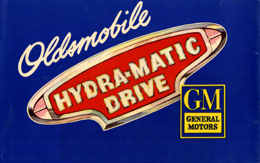 Oldsmobile Hydra-Matic Drive - blue cover
