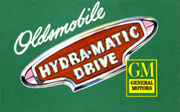 Oldsmobile Hydra-Matic Drive - green cover
