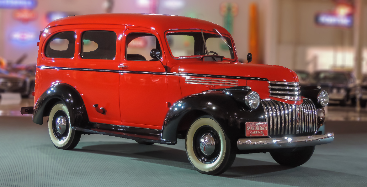 GM Heritage Center Collection | 1946 Chevrolet Suburban