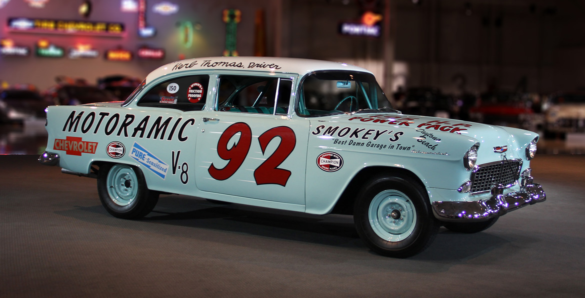 Gm Heritage Center Collection 1955 Nascar Chevrolet 92