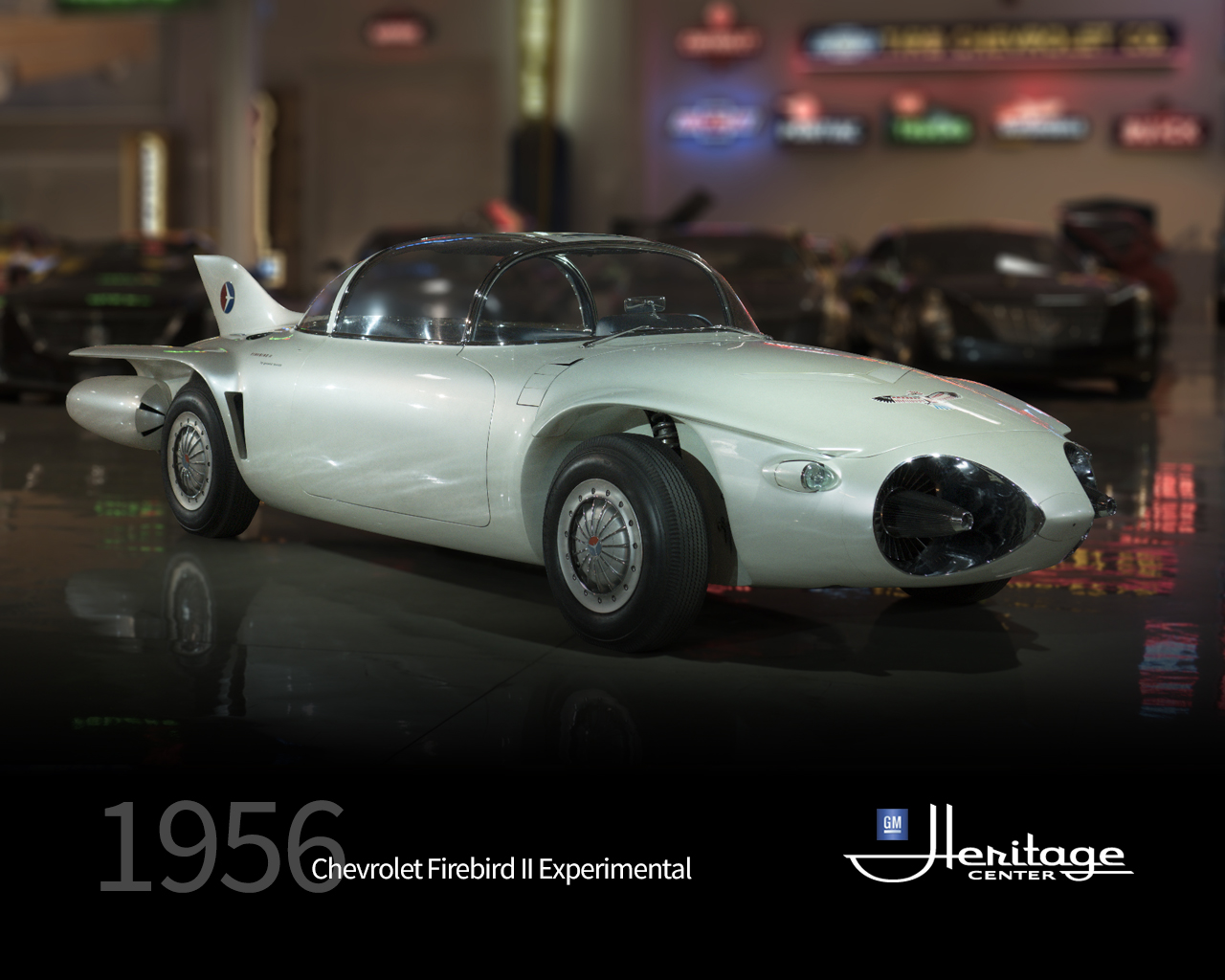 What Is Suspension In Car >> GM Heritage Center Collection | 1956 Firebird II