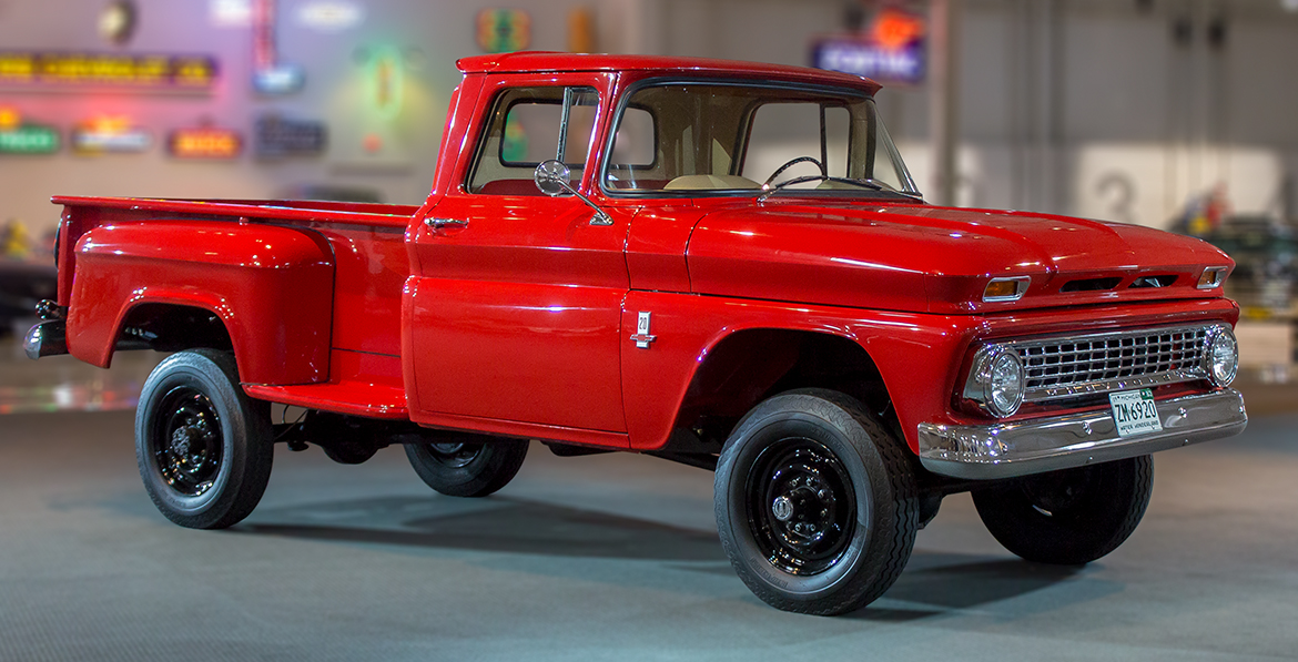 Gm Heritage Center Collection 1963 Chevrolet K2o