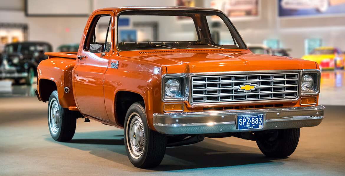 Gm Heritage Center Collection 1975 Chevrolet C 10