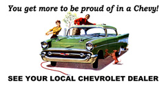 Purchase a Chevrolet Vintage 1957 Metal Sign