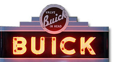 Purchase a Buick Neon Sign