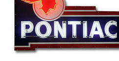 Purchase a Pontiac Neon Dealer Sign