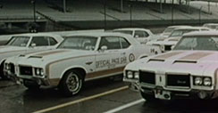 1972 Oldsmobile Pace Car